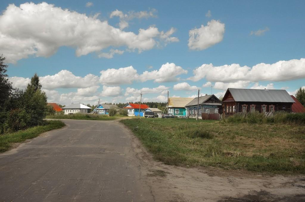 Деревня Окшово Меленковского района 04