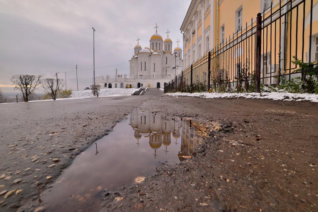 Зимний понедельник октября во Владимире 02