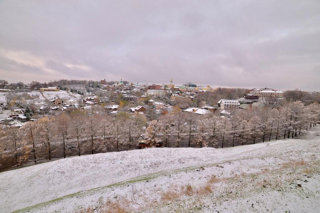 Зимний понедельник октября во Владимире 07