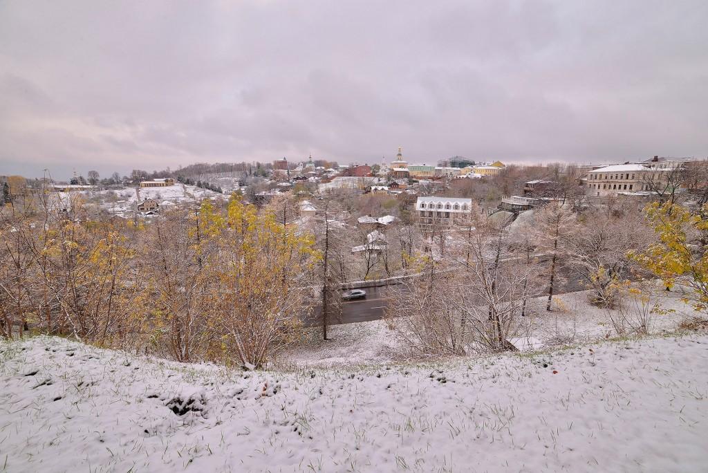 Зимний понедельник октября во Владимире 09