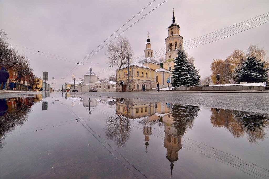 Зимний понедельник октября во Владимире 10