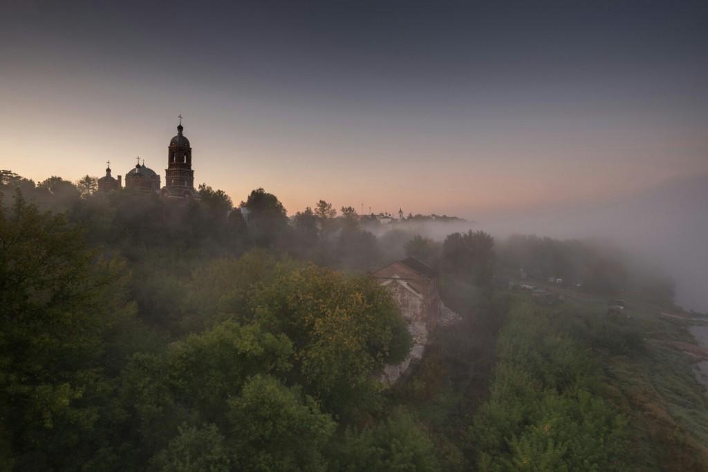 Ковров. Собор Спаса Преображения. 5.55 утра