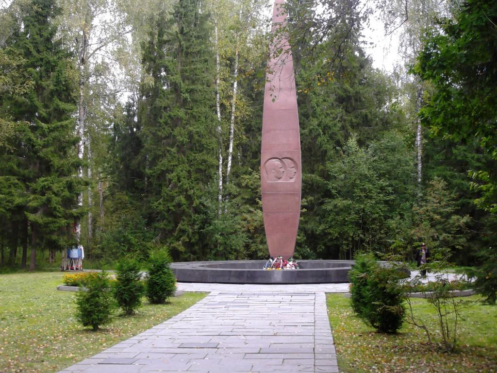 Место трагической гибели Юрия Гагарина 02
