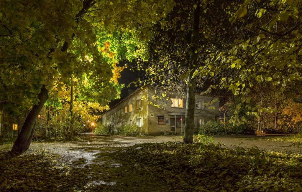 Ночь на улице моей. Александров, Лермонтова 01
