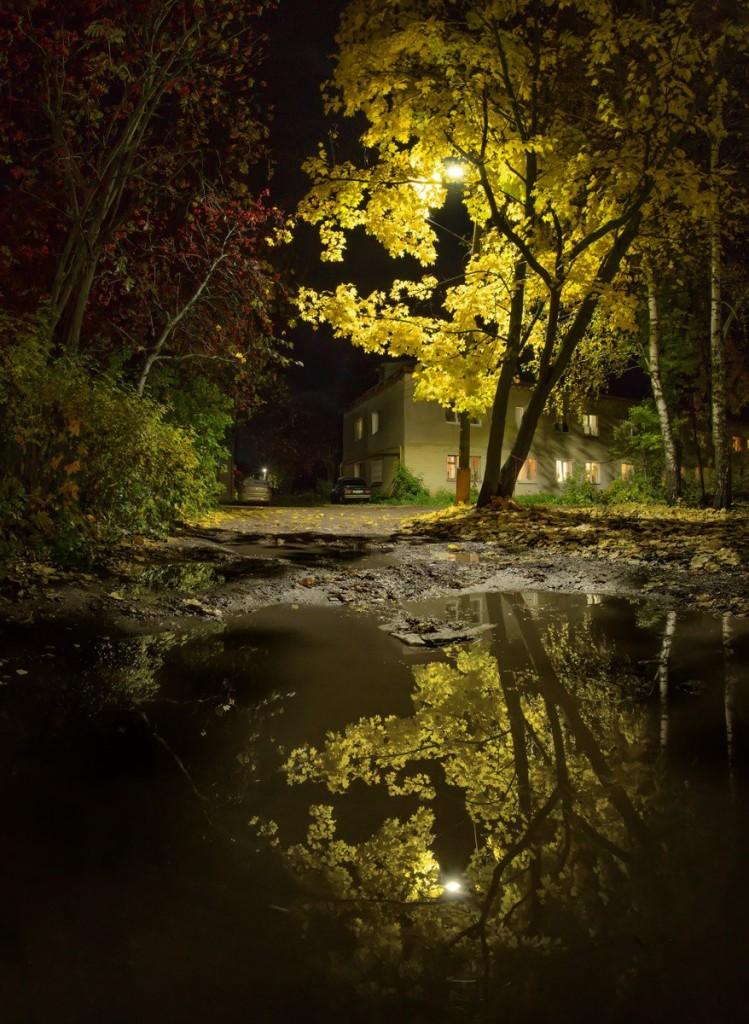 Ночь на улице моей. Александров, Лермонтова 02