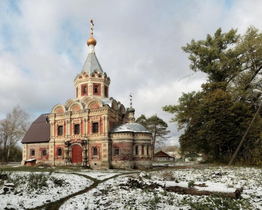 Поселок Муромцево, Судогодский р-н Церковь Александры Римской, 1895-1899