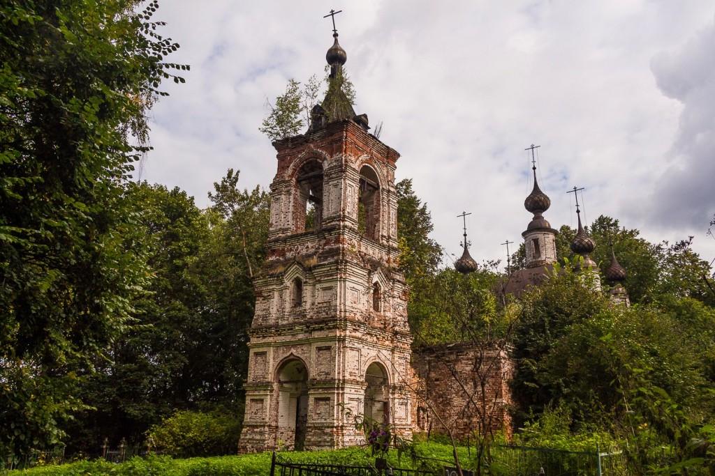 Преображенская церковь близ села Войново, Вязниковский район 00