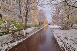 Проверка зимой во Владимире ( конец октября )
