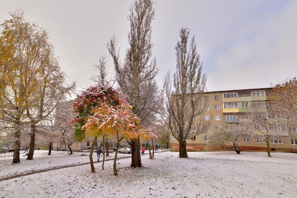 Проверка зимой во Владимире ( конец октября ) 05
