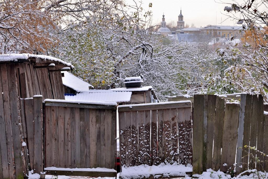 Проверка зимой во Владимире ( конец октября ) 08