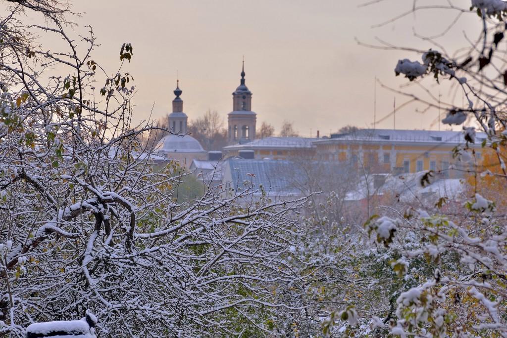 Проверка зимой во Владимире ( конец октября ) 09