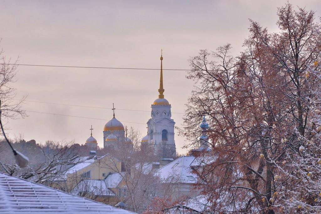 Проверка зимой во Владимире ( конец октября ) 10