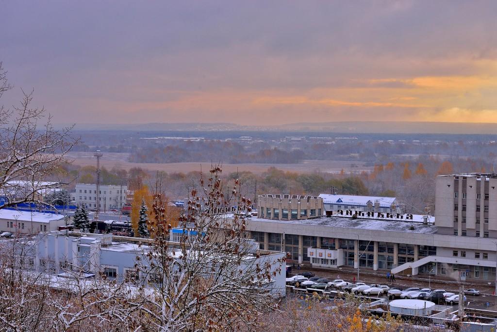 Проверка зимой во Владимире - продолжение... ( конец октября ) 09