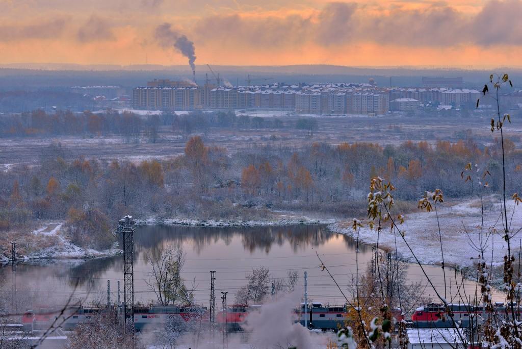 Проверка зимой во Владимире - II( конец октября ) 09