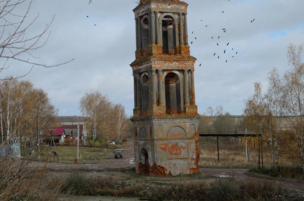 Село Городище и его пизанская колокольня, Юрьев-Польский р-н 01