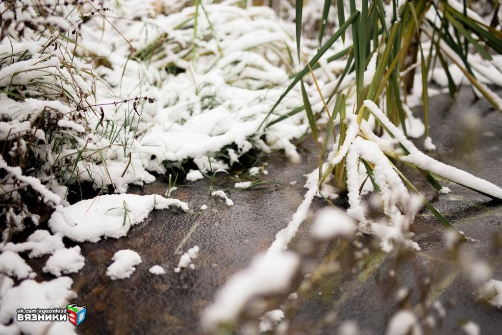Снежная осень в Вязниках 03