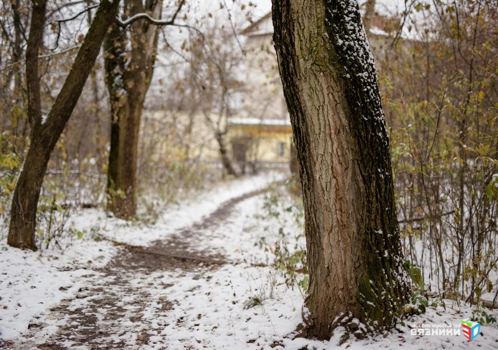 Снежная осень в Вязниках 04