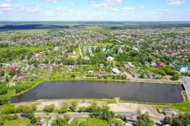 Успенский монастырь и река Серая в Александрове