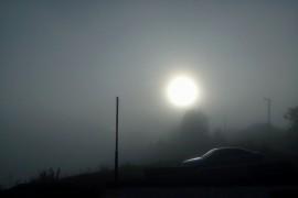 Утренний туман над Вязниками