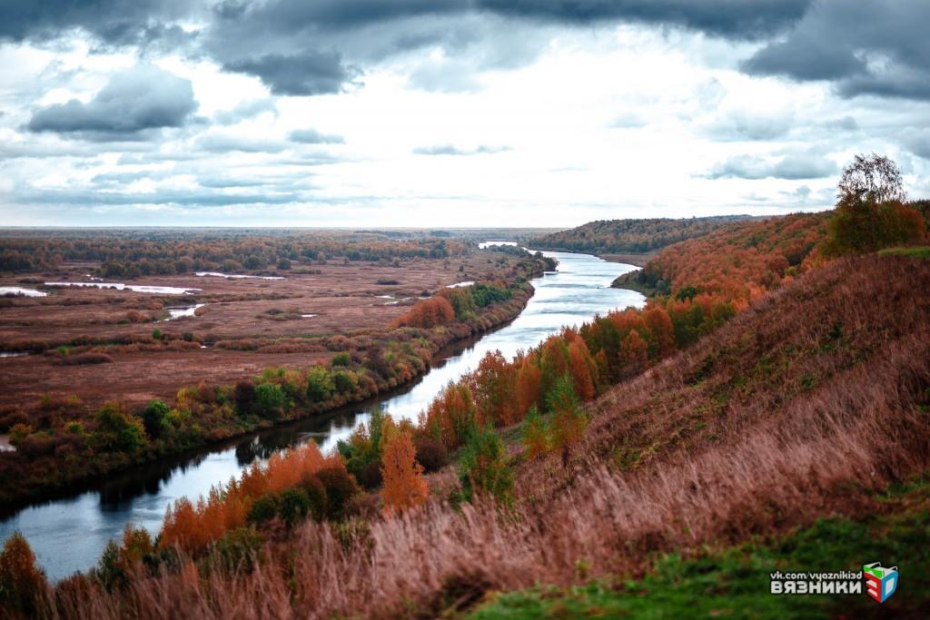 Вязниковский венец - Клязьма осенью