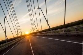 Закат на Муромском мосту