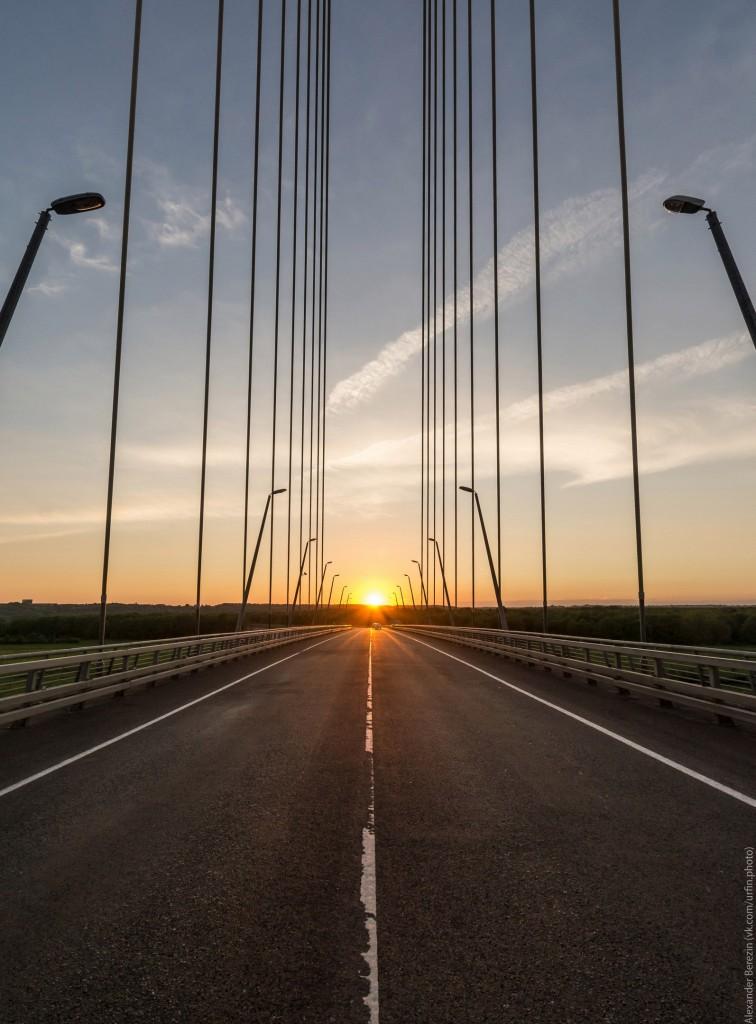 Закат на Муромском мосту 04
