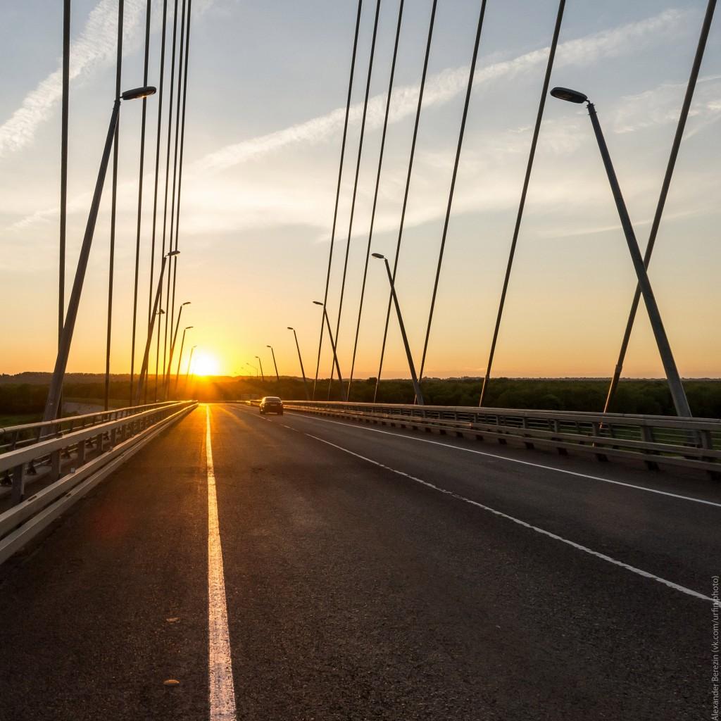 Закат на Муромском мосту 05