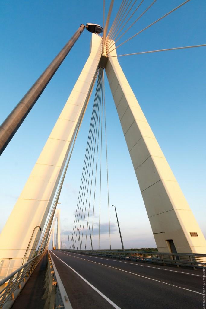 Закат на Муромском мосту 06