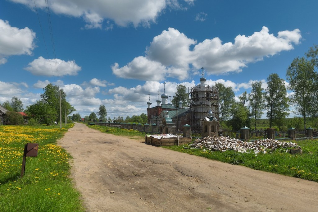Камешковский район в конце мая 02