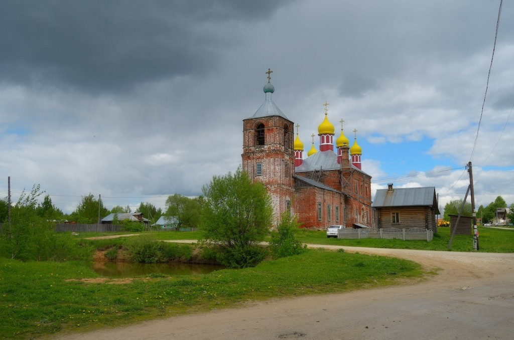 Камешковский район в конце мая 03
