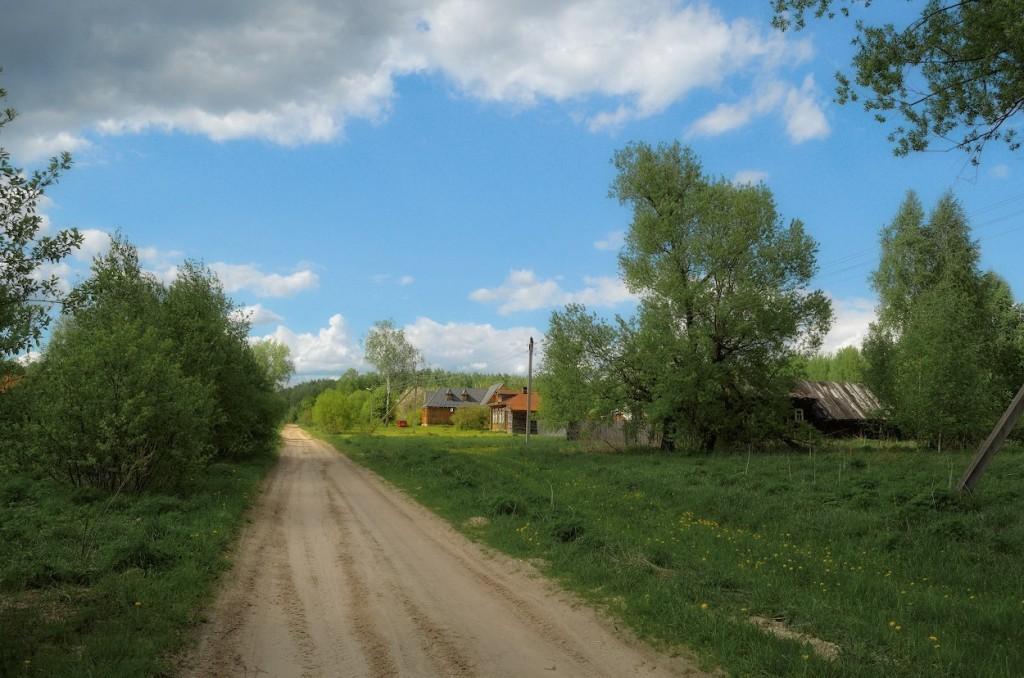 Камешковский район в конце мая 07