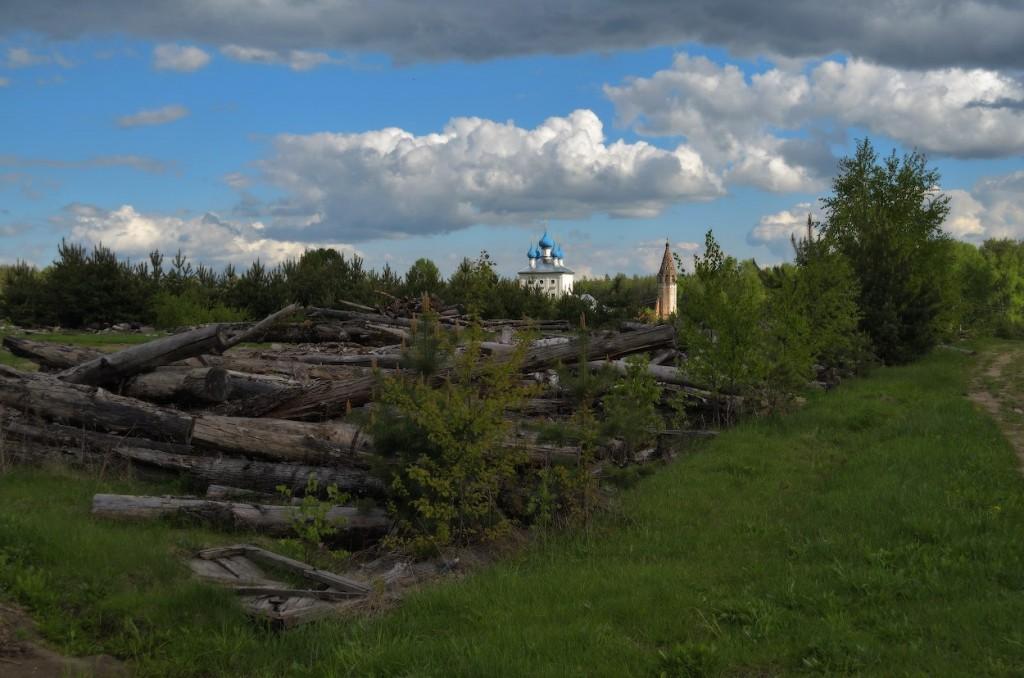 Камешковский район в конце мая 08