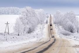Красоты зимних дорог