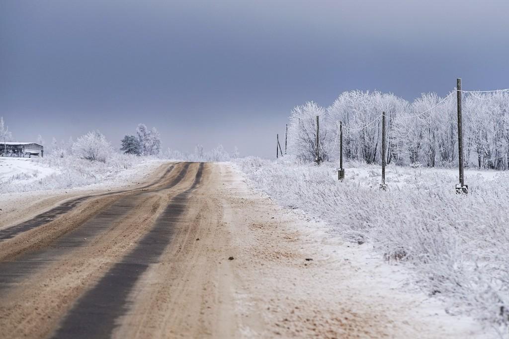 Красоты зимних дорог 03