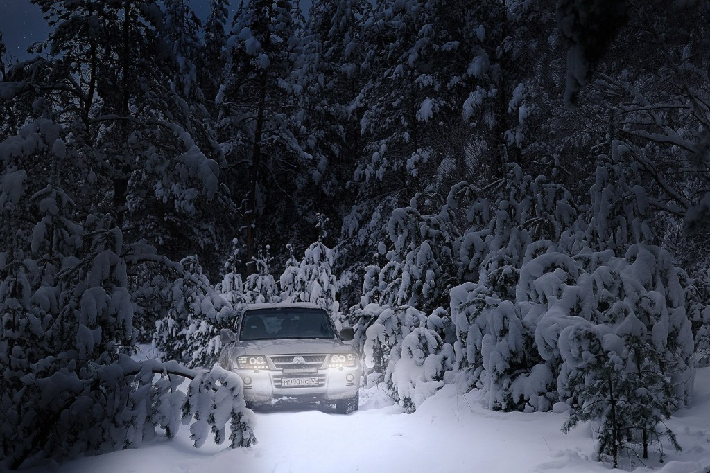 Красоты зимних дорог 05