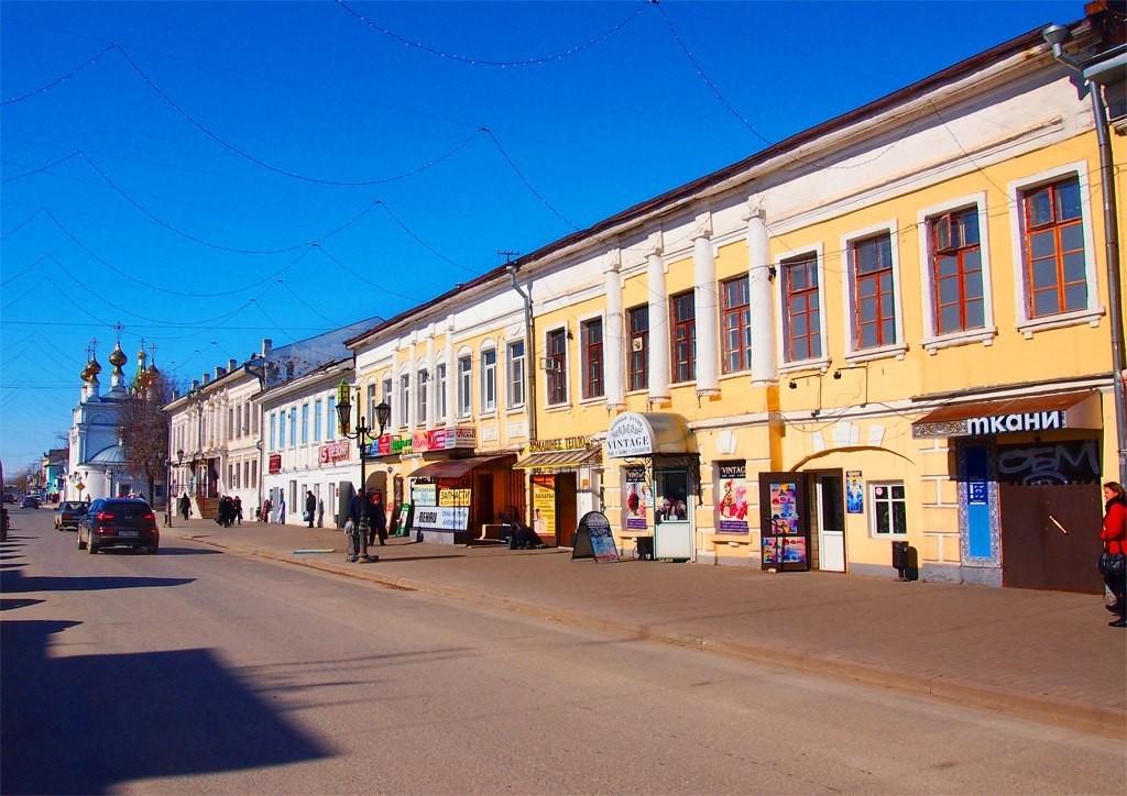 Муром, Улица Московская. Дома №13, №11 Страховых-Корольковых-Чибашевых