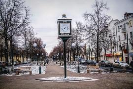 Новая аллея во Владимире (Октябрь 2017)