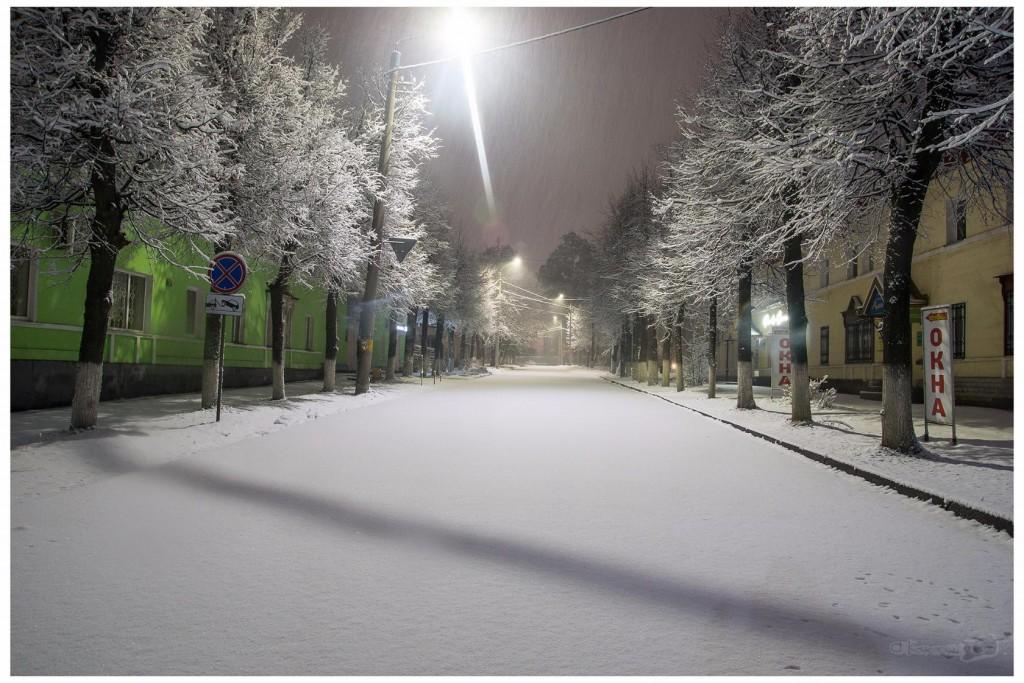 Снег в Коврове 01