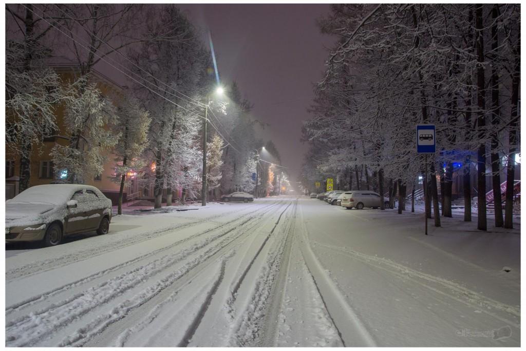 Снег в Коврове 02