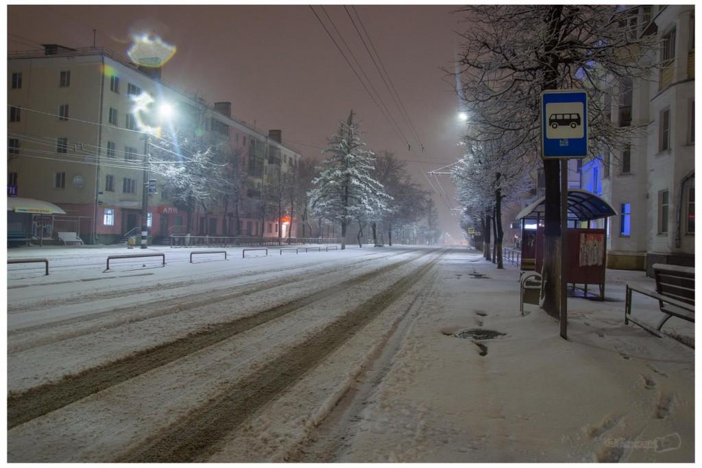 Снег в Коврове 03
