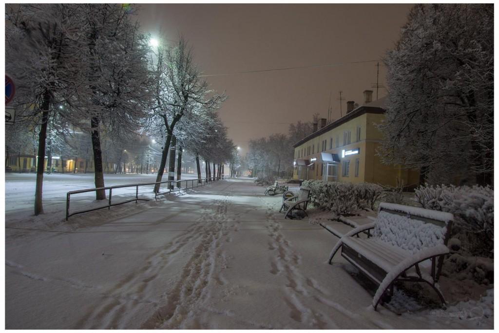 Снег в Коврове 04