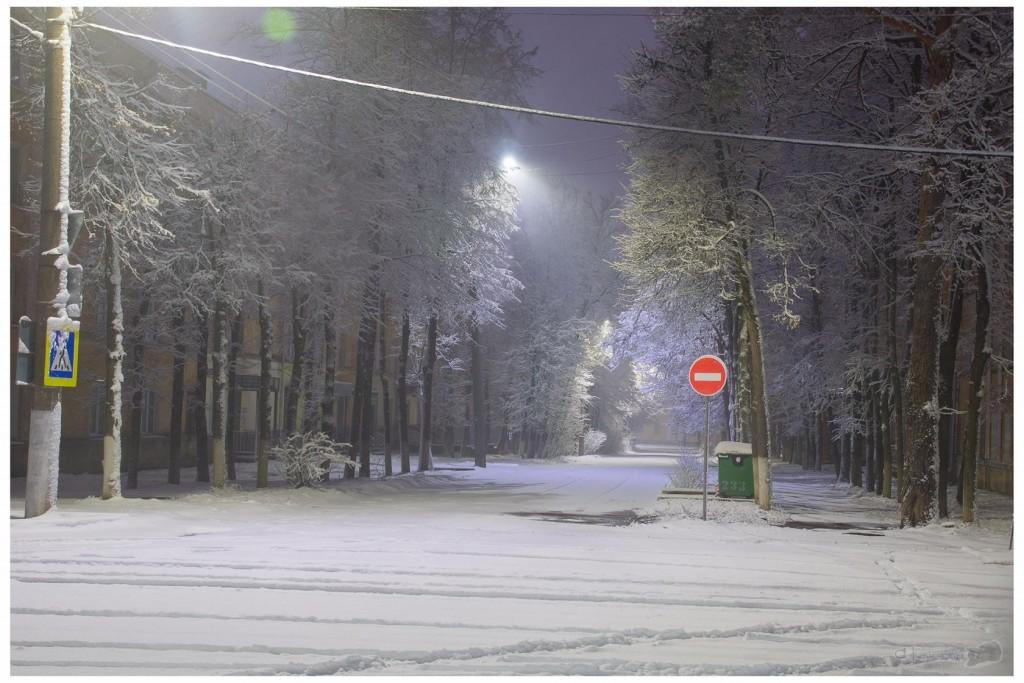 Снег в Коврове 05