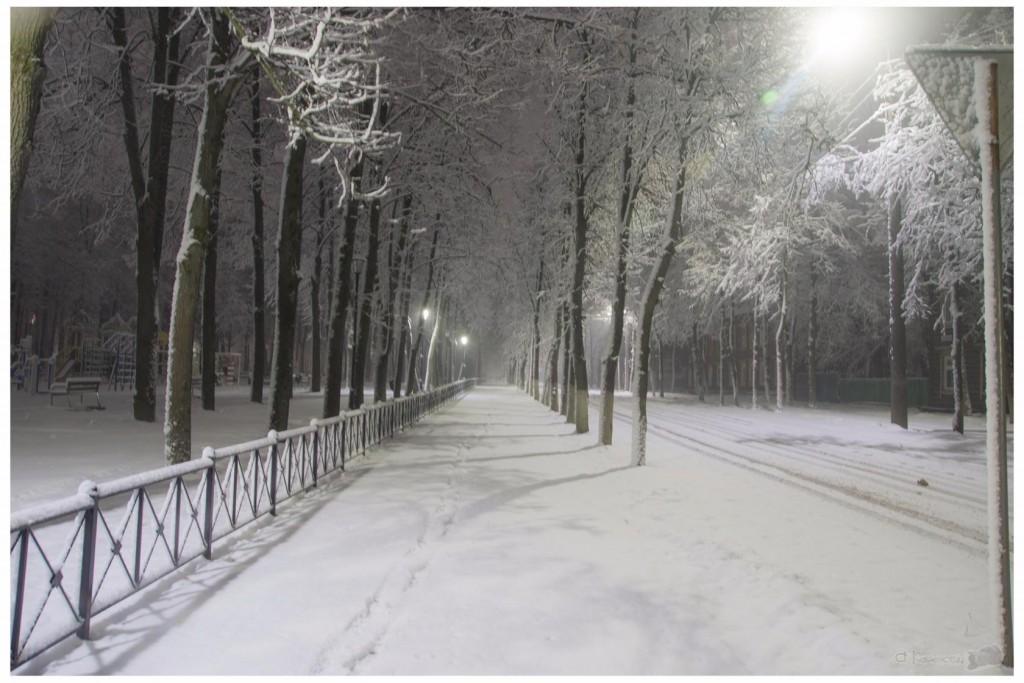 Снег в Коврове 06