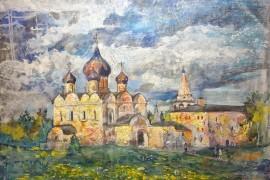 Дарья Воробьева «Теплый денек в Суздале»