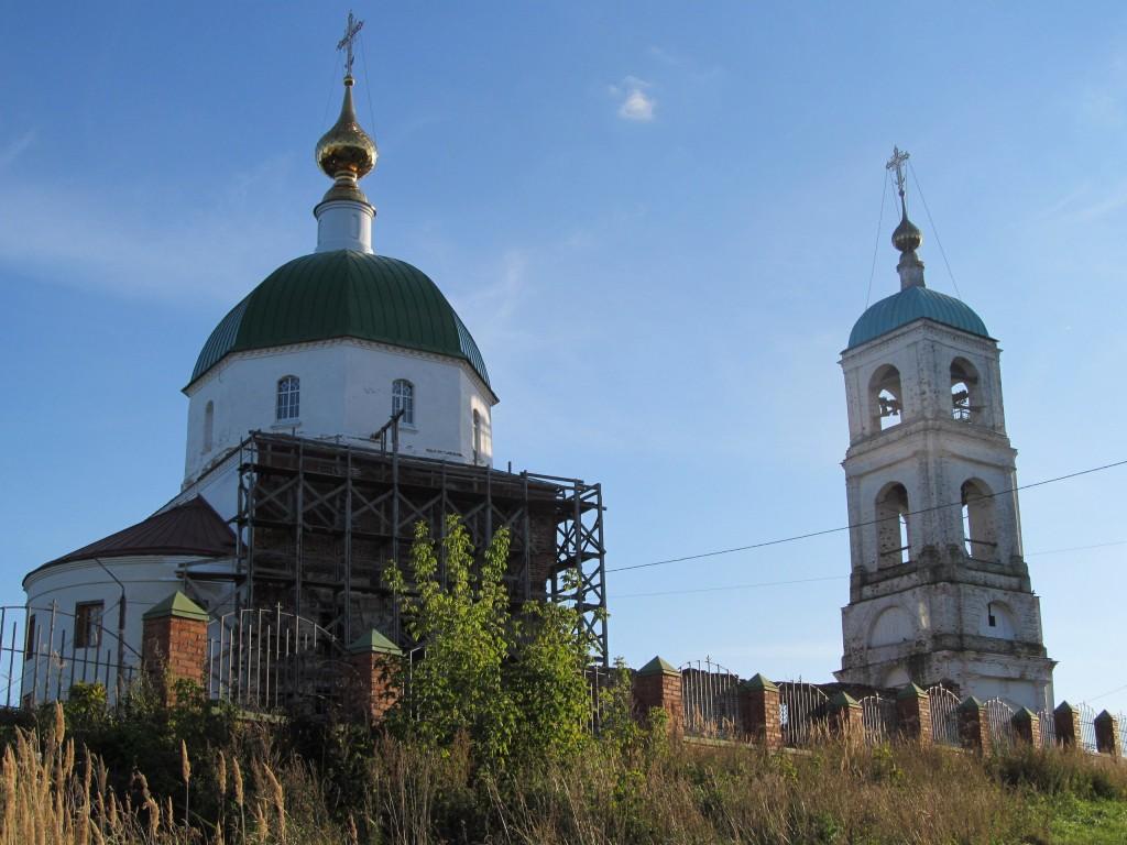 Троицкая церковь в селе Карачарово, Муром