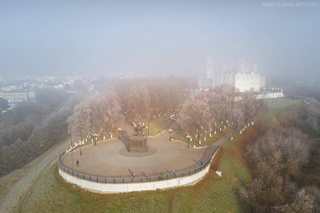 Туманное утро ноября во Владимире 03