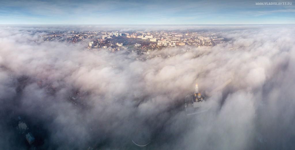 Туманное утро ноября во Владимире 06