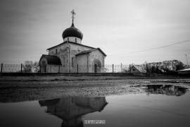 Юрьев-Польский в черно-белых тонах от Владимира Чучадеева