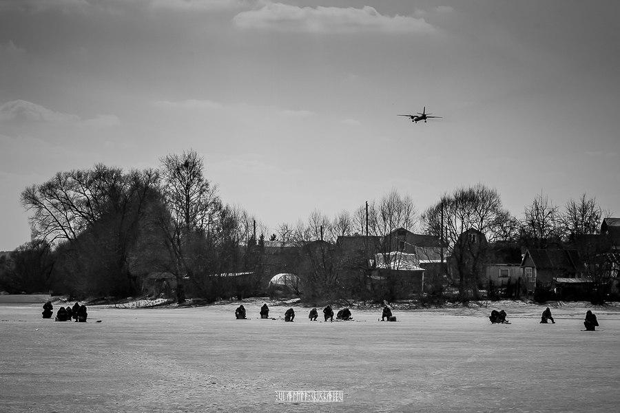 Юрьев-Польский в черно-белых тонах от Владимира Чучадеева 07