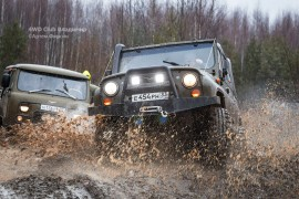 4WD club 19.11.2017 (д.Улыбышево-Вяткино)
